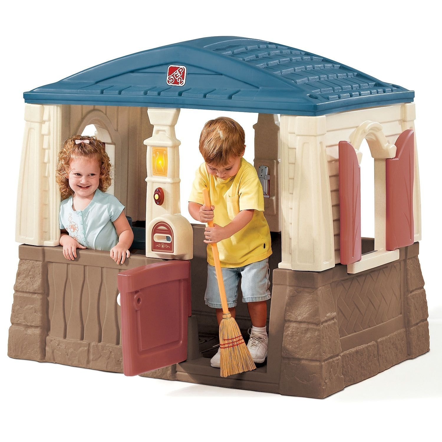 Outdoor Playhouses Toy : Kids outdoor playhouse pretend play fun
