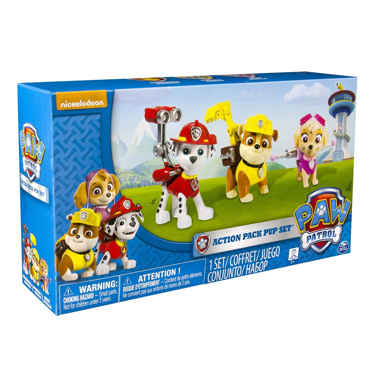 Paw Patrol Toy For Everyone : Paw patrol toys figures by nickelodeon