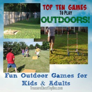 Final, Fun adult outdoor games something
